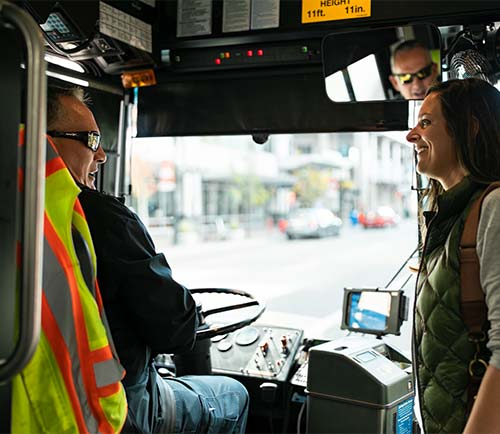 Boise bus driver helps with paying fare